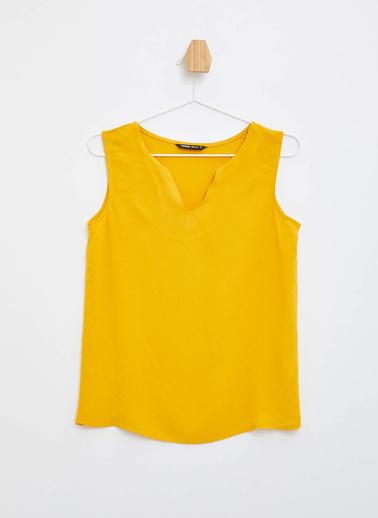 DeFacto Kolsuz Bluz Sarı